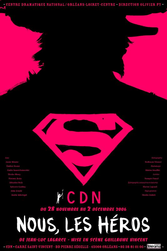 Affiche Poster CDN Orléans - Nous, les héros