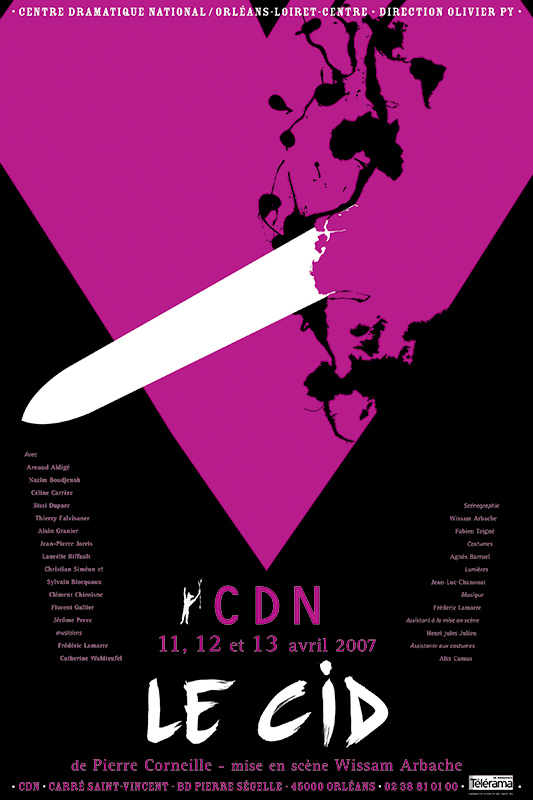 Affiche Poster CDN Orléans - Le Cid