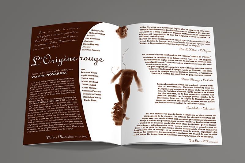 CDN Dépliant L'Origine Rouge 2000-01