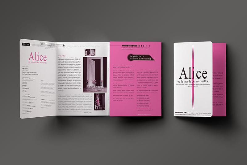 CDN Dépliant Alice 2007-08