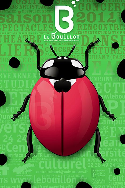 Affiche Poster Le Bouillon Orléans Saison 2011-12 01