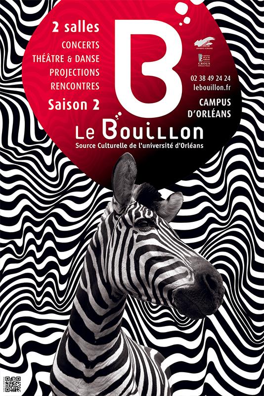 Affiche Poster Le Bouillon Orléans Saison 2012-13 01