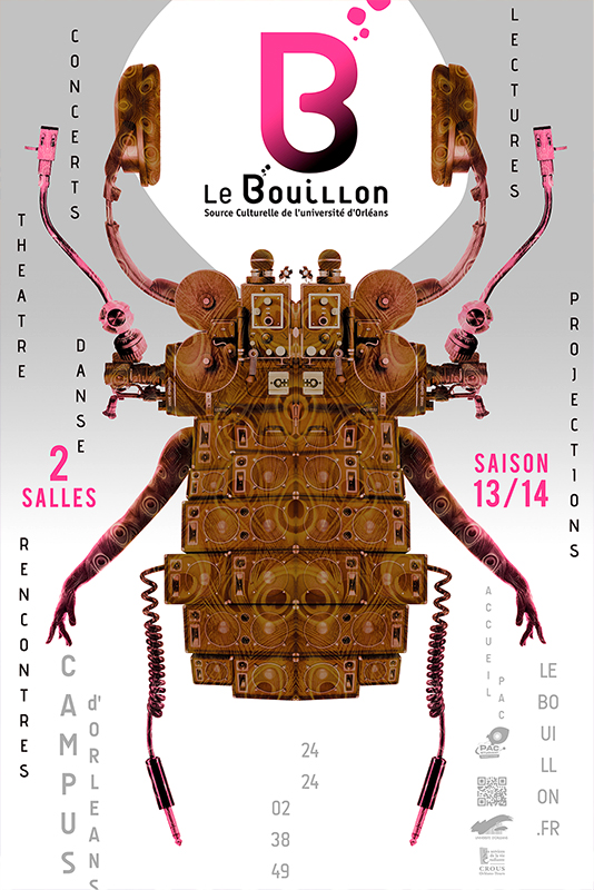 Affiche Poster Le Bouillon Orléans Saison 2013-14 01