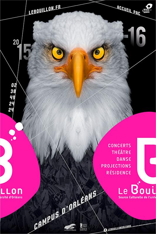 Affiche Poster Le Bouillon Orléans Saison 2015-16 01