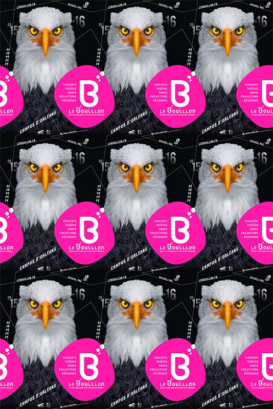 Affiche Poster Le Bouillon Orléans Saison 2015-16 02