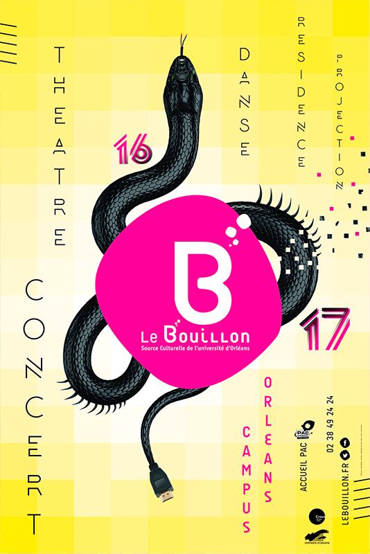 Affiche Poster Le Bouillon Orléans Saison 2016-17 01