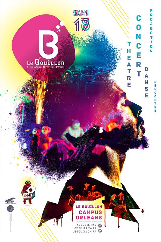 Affiche Poster Le Bouillon Orléans Saison 2017-18 01