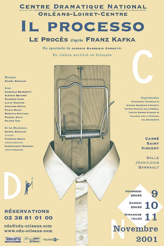 Affiche Poster CDN Orléans - Il processo