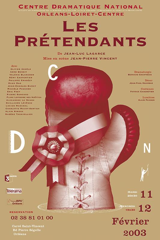 Affiche Poster CDN Orléans - Les prétendants