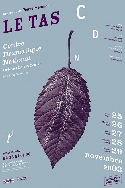 Affiche Poster CDN Orléans - Le tas