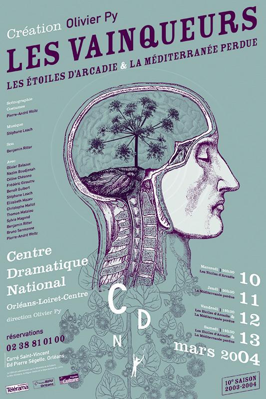 Affiche Poster CDN Orléans - Les Vainqueurs 1 & 2