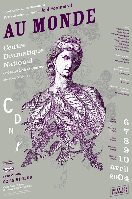 Affiche Poster CDN Orléans - Au monde