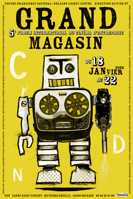 Affiche Poster CDN Orléans - Grand Magasin