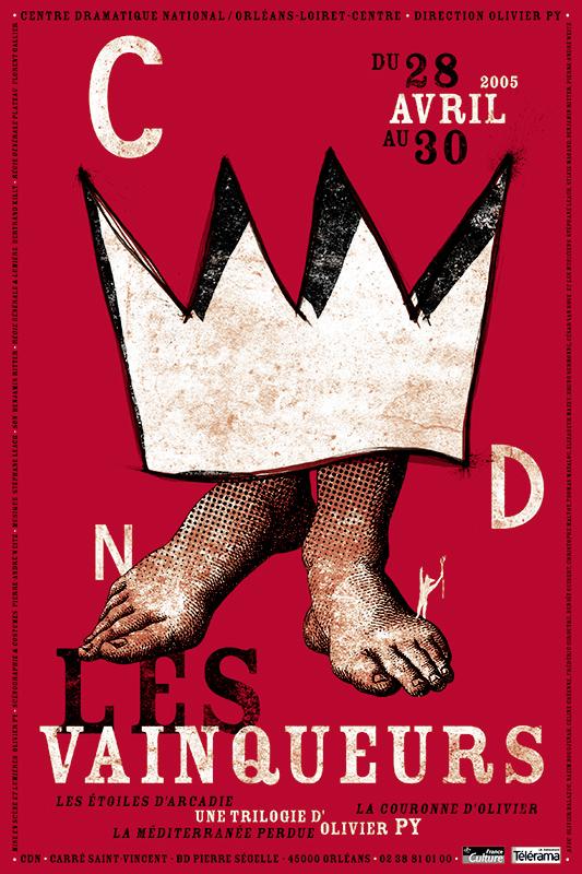Affiche Poster CDN Orléans - Les Vainqueurs 3