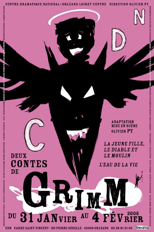 Affiche Poster CDN Orléans - Deux contes de Grimm