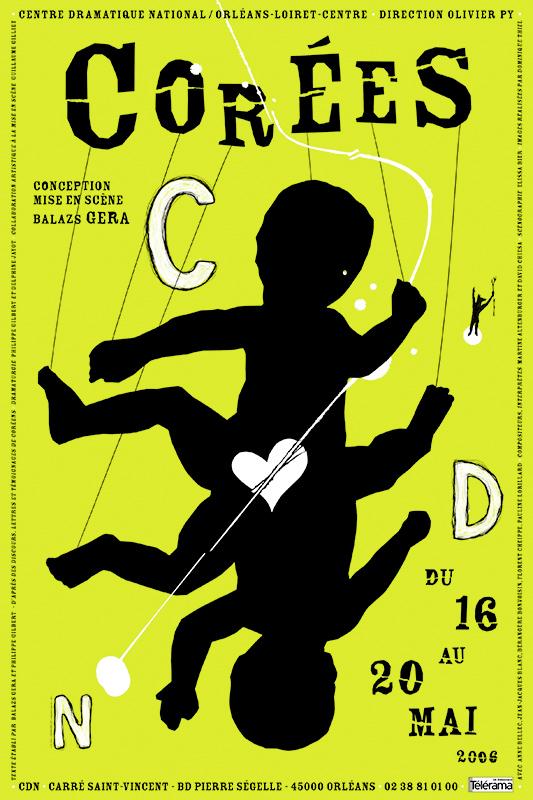 Affiche Poster CDN Orléans - Corées