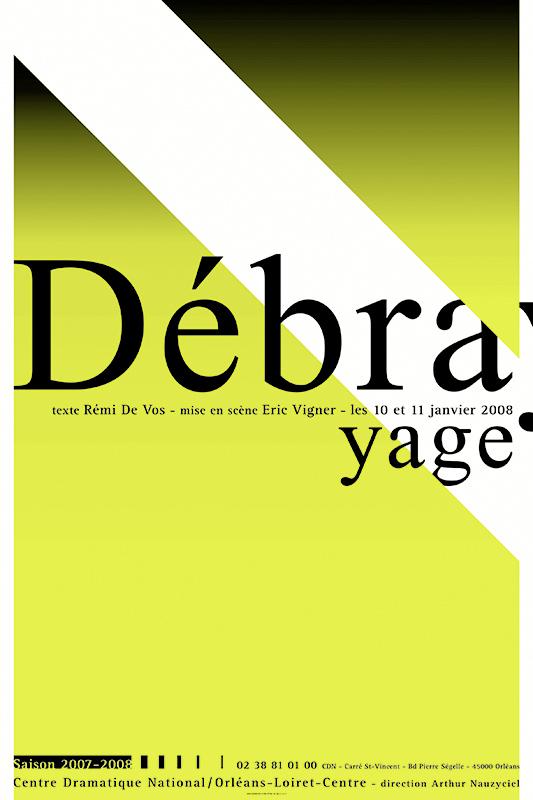 Affiche Poster CDN Orléans - Débrayage