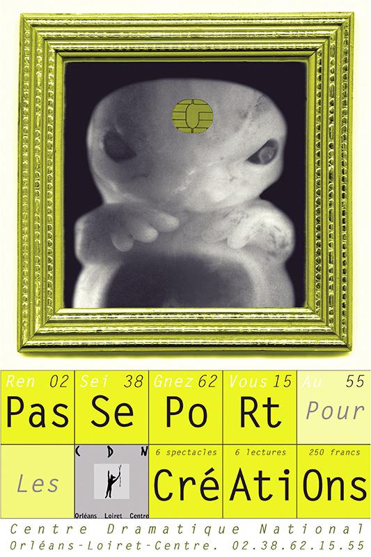 Affiche Poster CDN Orléans - Ouverture saison 1999-00