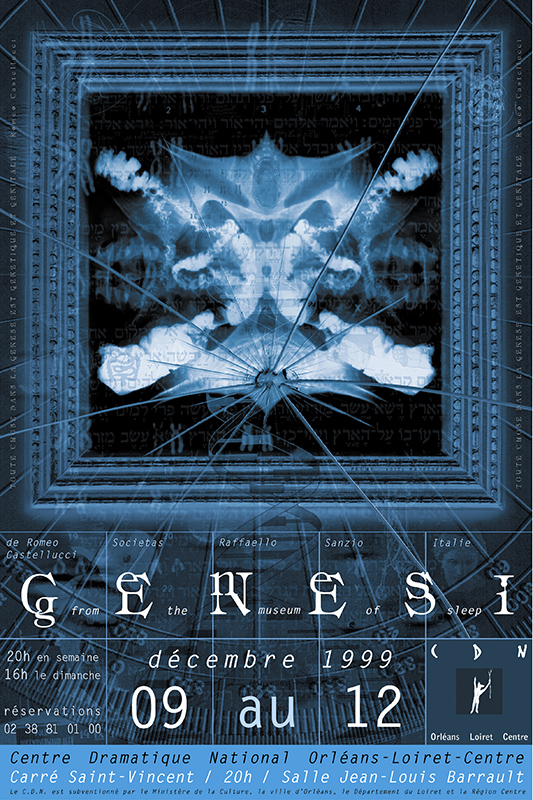 Affiche Poster CDN Orléans - Genesi - From the museum of sleep