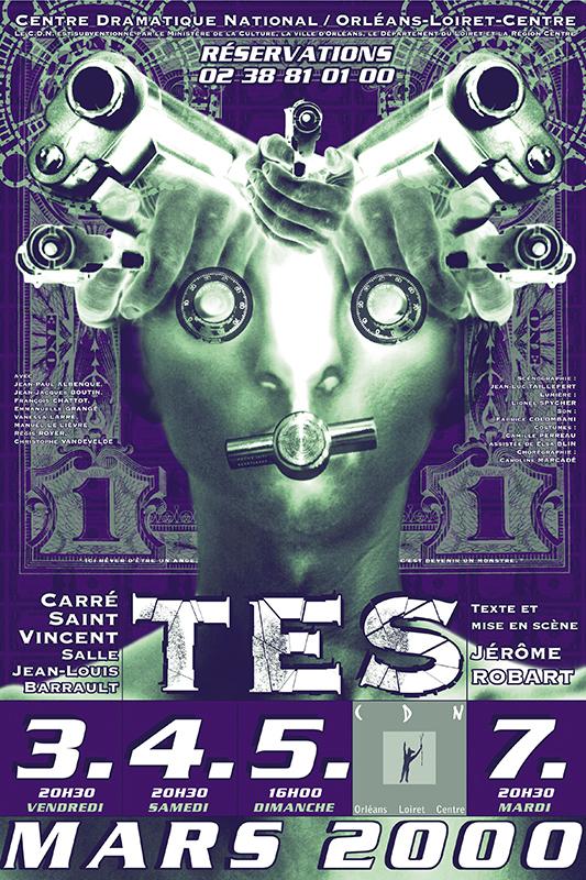 Affiche Poster CDN Orléans - Tes