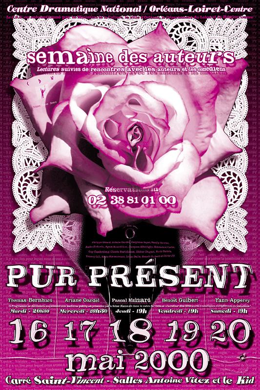 Affiche Poster CDN Orléans - Pur Présent 2000