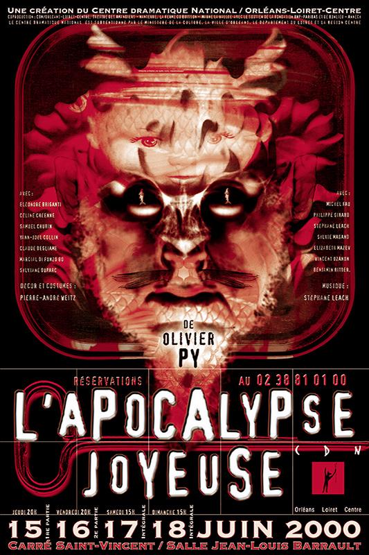 Affiche Poster CDN Orléans - L'apocalypse joyeuse
