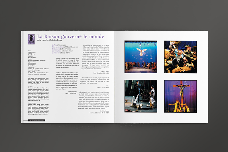 CDN Orléans Livre 9 ans - Page Spectacle