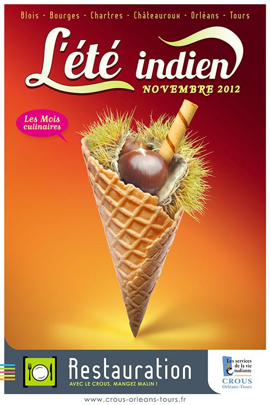 Affiche Poster CROUS Orléans Nov 2012