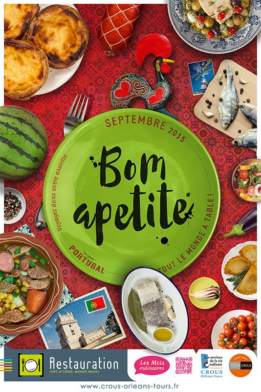 Affiche Poster CROUS Orléans Sept 2015