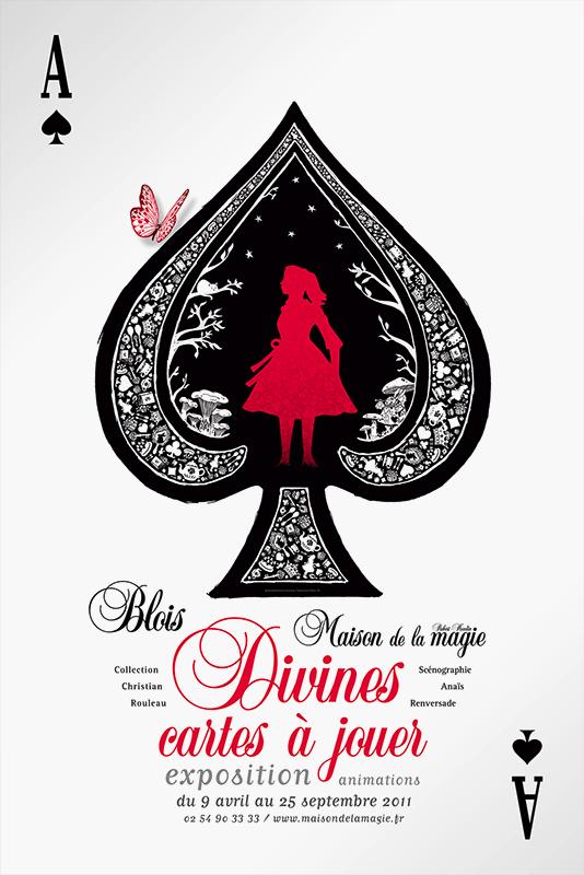 Affiche Maison de la Magie Exposition 2011