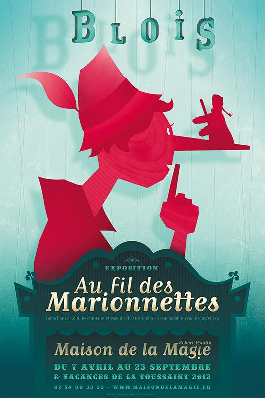 Affiche Maison de la Magie Exposition 2012