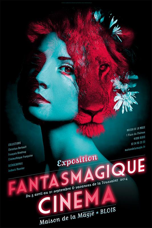 Affiche Maison de la Magie Exposition 2014