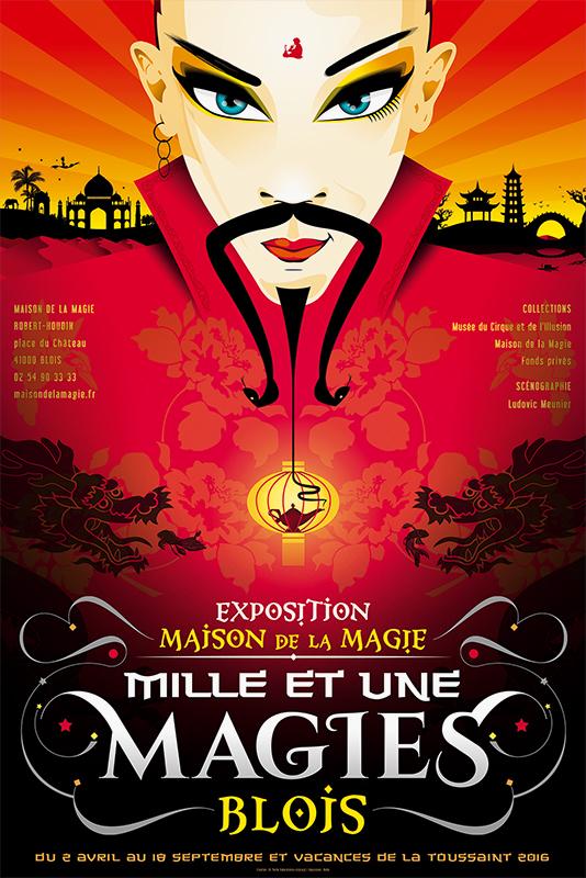 Affiche Maison de la Magie Exposition 2016
