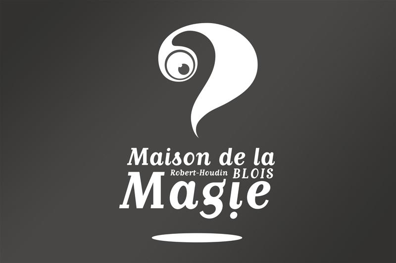 Maison de la Magie Logo Identité Visuelle