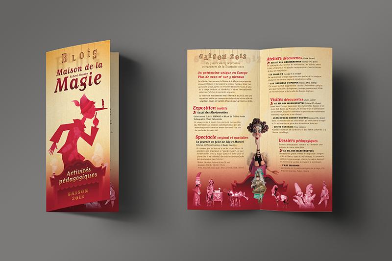 Maison de la Magie Dépliant 2012