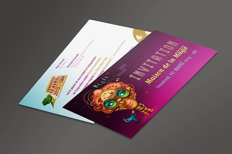 Maison de la Magie Invitation 2015