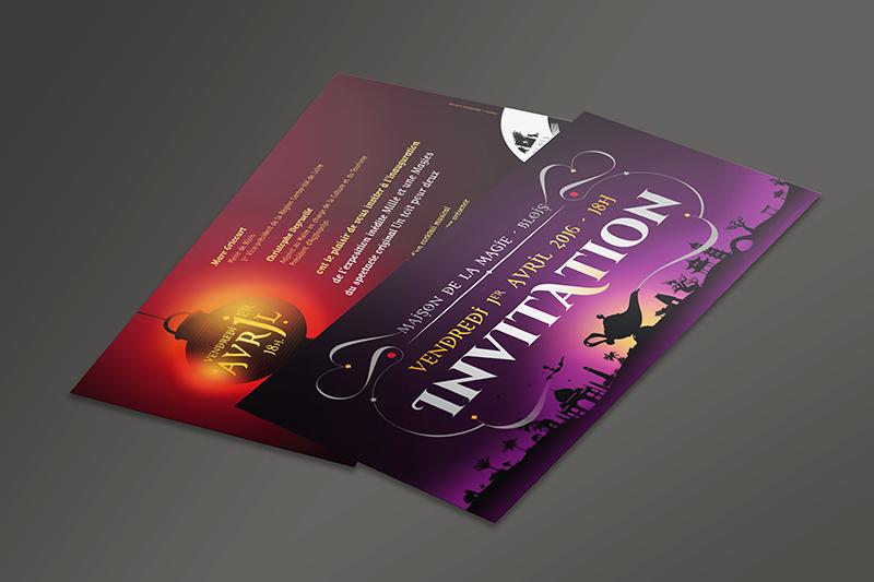Maison de la Magie Invitation 2016