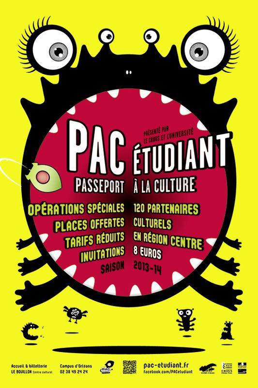PAC Etudiant Affiche 2013-14
