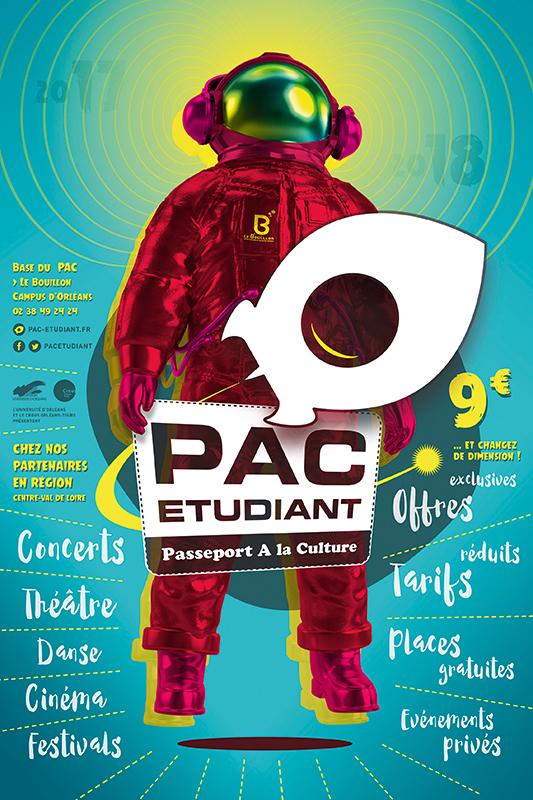 PAC Etudiant Affiche 2017-18